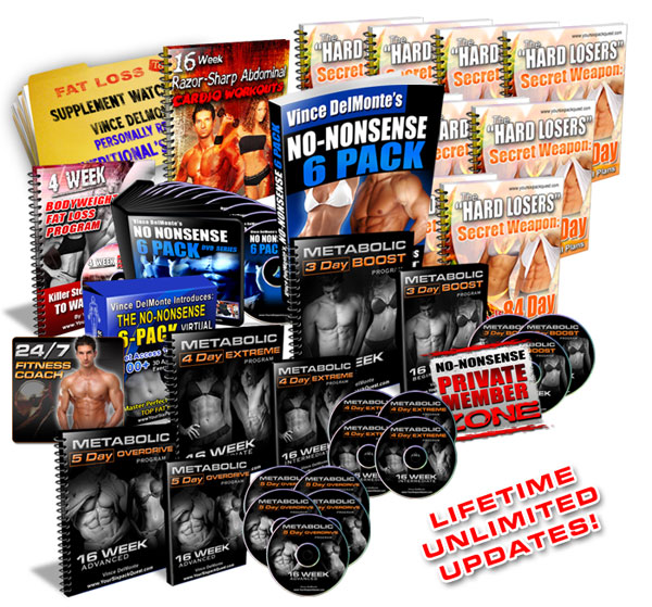 Vince DelMonte Your Six Pack Quest System