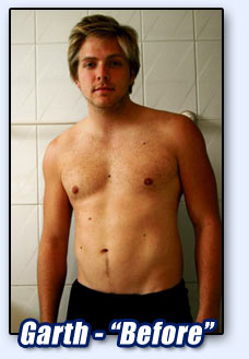 Garth Before - 12.7% body fat