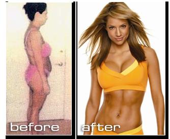 Jennifer Nicole Lee's chubby body transformation