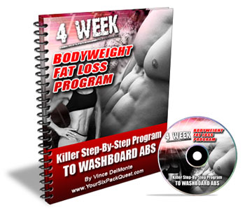 Bodyweight Fat Loss Progam in 4 Weeks