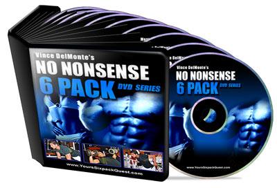 No-Nonsense 6 pack DVD workout