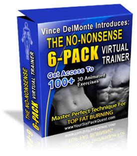 Virtual Trainer Exercises to get a  6-pack