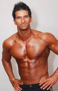 Vince DelMonte 8% body fat